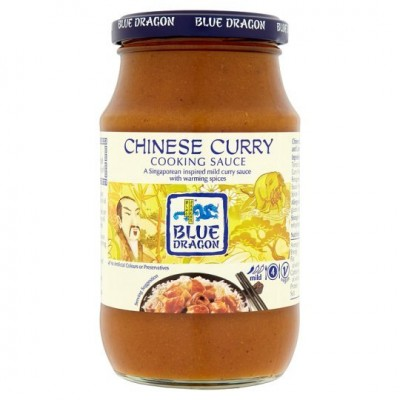 BLUE DRAGON CHINESE CURRY COOKING SAUCE 380 GR